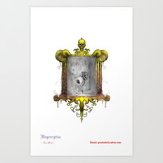 Misperception - no background Art Print