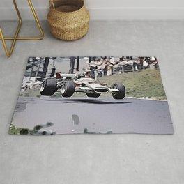 Nordschleife Formula 1 Jump Rug