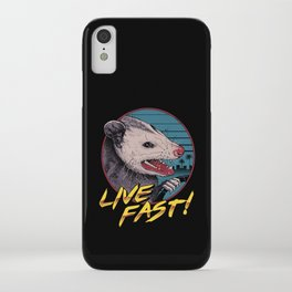 Live Fast! iPhone Case