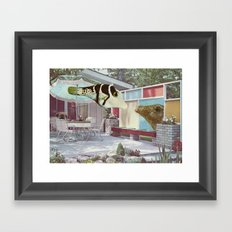 secret rendezvous Framed Art Print