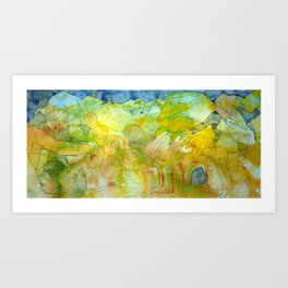 Annunciation: Post Art Print