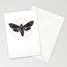 Sacred Death's-head Hawkmoth Stationery Cards