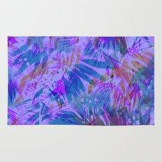 Palmtastic Purple Rug