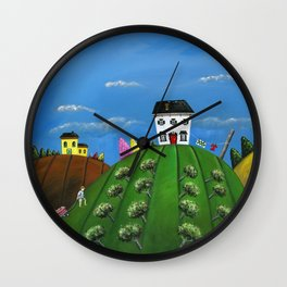 Hilly Hardwork Wall Clock