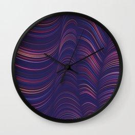 Flexible Lines 06 Wall Clock