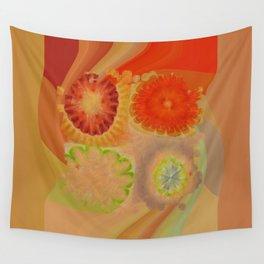Nontransmittal Sense Flower  ID:16165-112135-50620 Wall Tapestry
