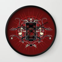 sound Wall Clocks featuring Sound by Carly Curgenven