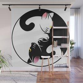 Luna & Artemis Wall Mural