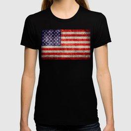 Antique American Flag T-shirt