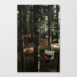 Hammocking Canvas Print