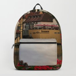 Bavaria Germany Bamberg Houses Cities Building Backpack