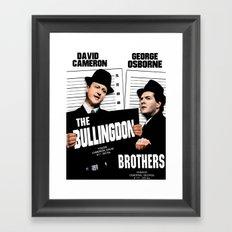 the Bullingdon Brothers Framed Art Print