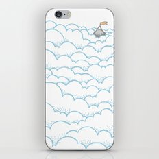 Peak above the clouds iPhone & iPod Skin