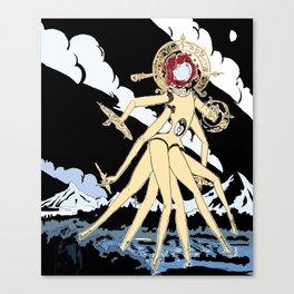 Eldritch Princesses: Belle Canvas Print