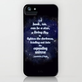 Expanding Universe (in the dark) iPhone Case