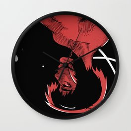 MOTOKO KUSANAGI GHOST IN THE SHELL Wall Clock