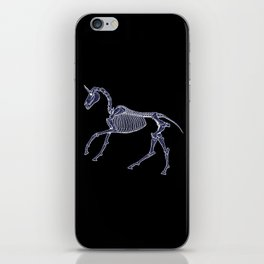 Unicorn Fossil iPhone Skin