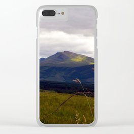 Another Scottish Highland Landscape Clear iPhone Case