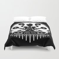 shiva Duvet Covers featuring Disco Shiva by starplexus