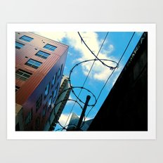 Barbed In Seattle Art Print