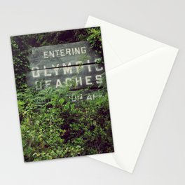 Olympic Beaches Stationery Cards