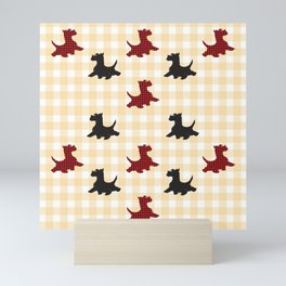 Scottie Dogs Mini Art Print