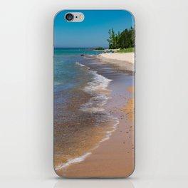 Lake_Michigan Beach, Charlevoix - III iPhone Skin