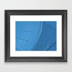 Blue Reflection  Framed Art Print