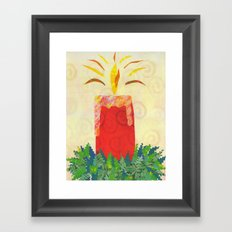 Candlelight's Gleaming Framed Art Print