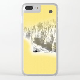 Painter Clear iPhone Case