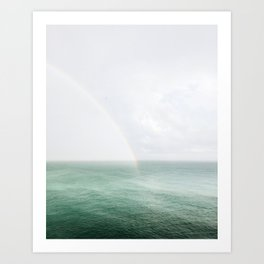 Rainbow in the Sea Art Print