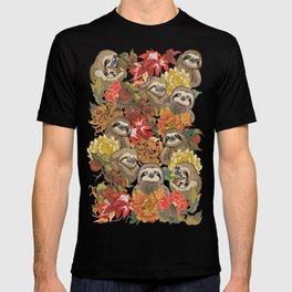 Because Sloths Autumn T-shirt