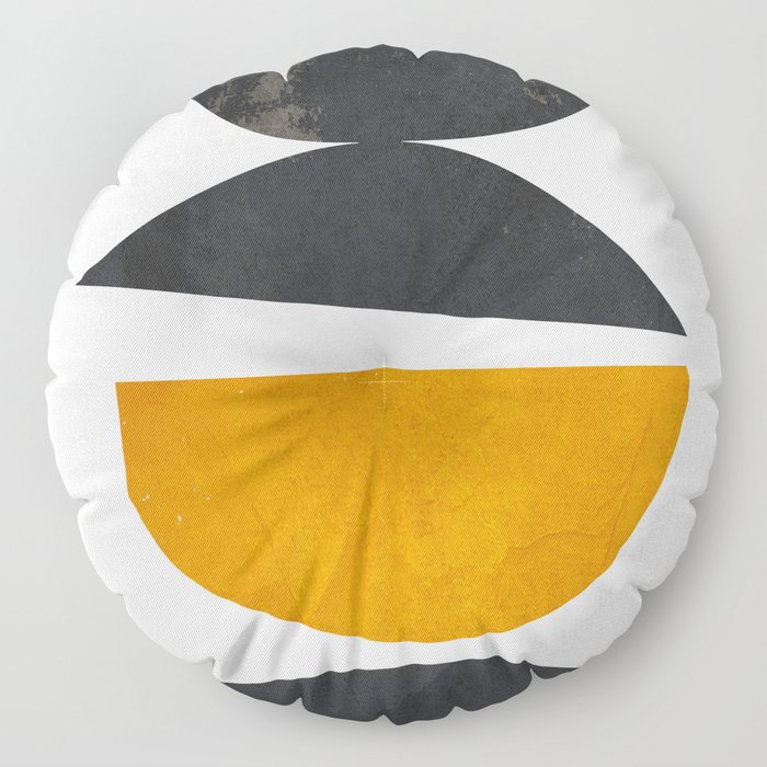 abstract minimal 23 Floor Pillow