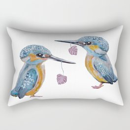 Kingfishers Rectangular Pillow