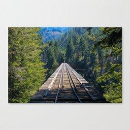 Vance Creek Viaduct Canvas Print
