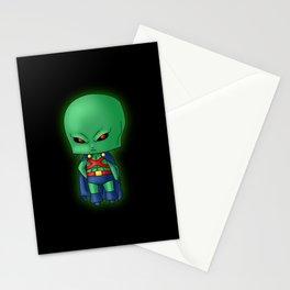 Chibi Martian Manhunter Stationery Cards
