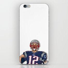 Tom Brady iPhone Skin