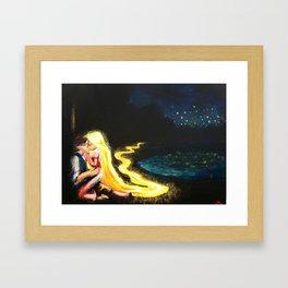 Now I See The Light  Framed Art Print