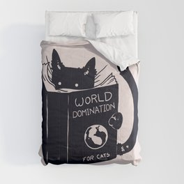 World Domination For Cats Comforters