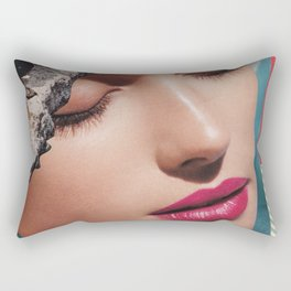Kiss Me Rectangular Pillow