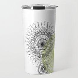 Modern Spiro Art #3 Travel Mug