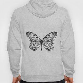 Mono Rice Paper Butterfly Hoody