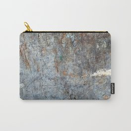 Abstract Grey with White Cloud Carry-All Pouch