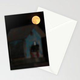 Moon on the Rise Stationery Cards
