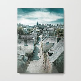 Dinan's Rooftops Metal Print