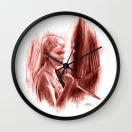 Homage to Rosemary's Baby Wall Clock