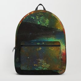 Grand Canal, Milky Way. Blue Poinsettia, Beautiful Woodlands Backpack