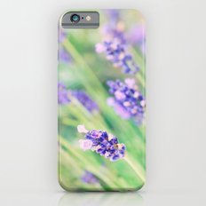 Summer flowers in pastel iPhone 6s Slim Case
