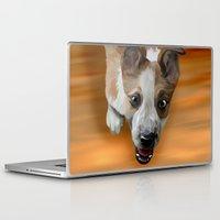 finn Laptop & iPad Skins featuring Finn by Nojjesz