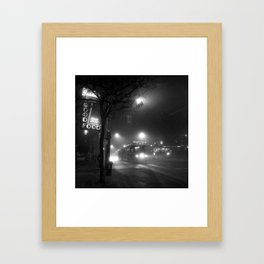 A Streetcar Named Noir Framed Art Print